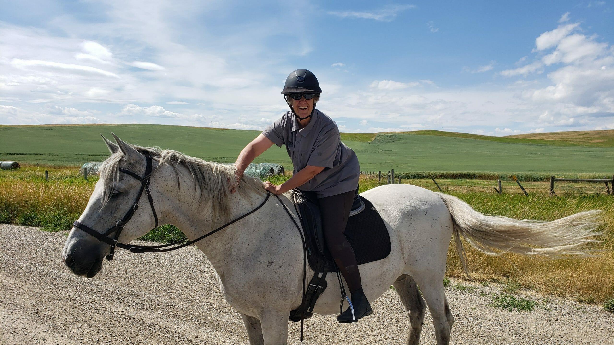 balanced horse riding lessons
